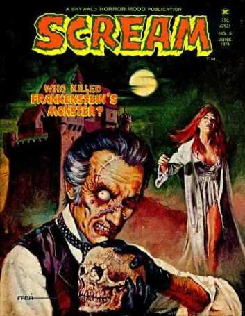 Scream-Skywald-Frankenstein