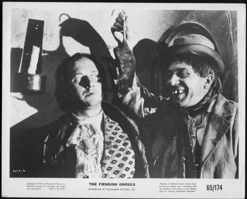 Donald-Pleasence-George-Rose-Flesh-and-the-Fiends-1959