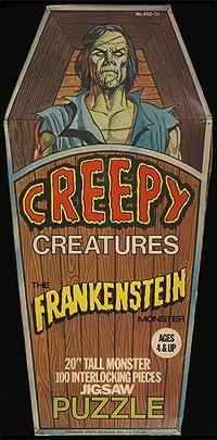 PuzzleCreepyCreaturesFrankensteinMonster
