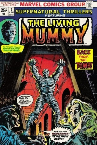 Supernatural-Thrillers-issue-7-The-Living-Mummy-Marvel-Comics