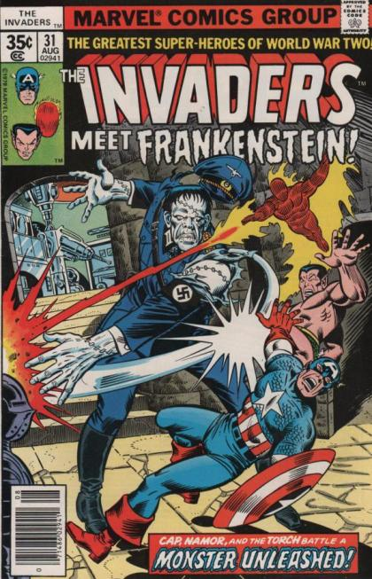 The-Invaders-Meet-Frankenstein-by-Don-Glut-Marvel-Comics-1978