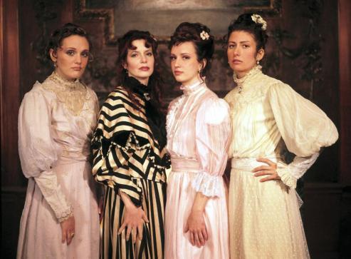 Jane Scarlett, Barbara Joyce, Ruby LaRocca, Caroline Hoemann, 2003, (c) Media Blasters