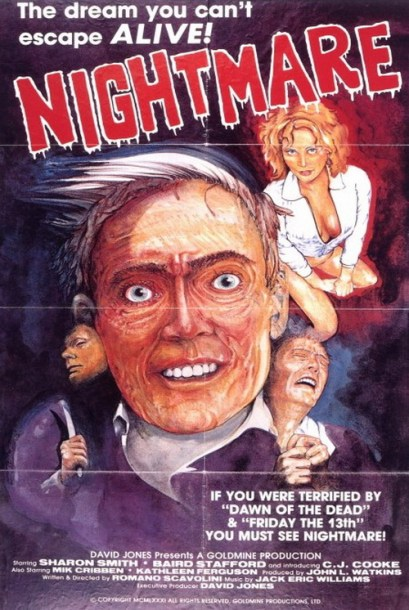Nightmares in a Damaged Brain 1 poster