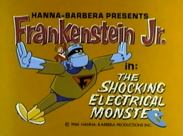 Frankenstein_Jr._title