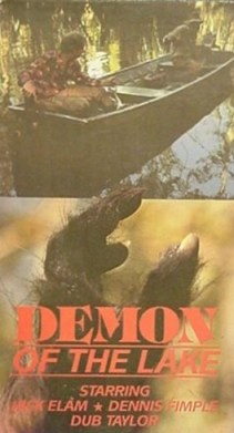 demon of the lake vhs front