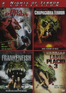 Boa Vs. Python : Chupacabra Terror : Frankenfish : Lake Placid