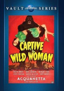 Captive-Wild-Woman-Universal-Vault-DVD