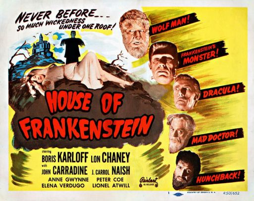 house-of-frankensten-1944-realart-re-release-poster