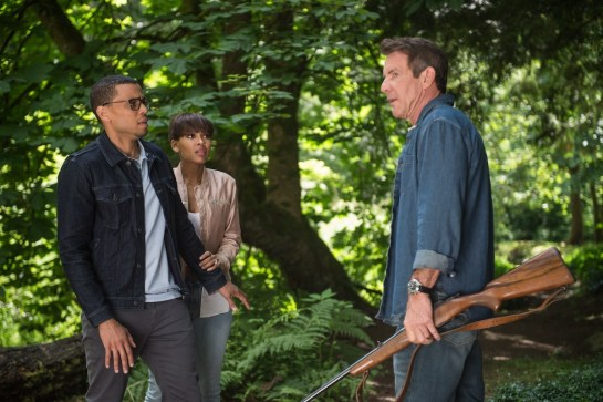 Michael Ealy, Meagan Good and Dennis Quaid star in Screen Gems' THE INTRUDER.