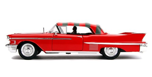 MOVIES & MANIA | Freddy Krueger and model 1958 Cadillac from