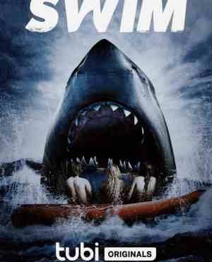 Swim-movie-film-sharks-action-horror-2021-Tubi-originals-review-reviews