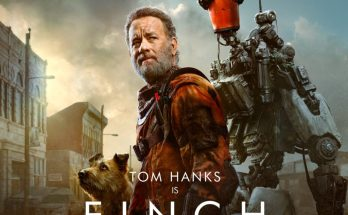 Finch-movie-film-sci-fi-post-apocalypse-2021-Tom-Hanks-robot-dog-Apple-TV-poster