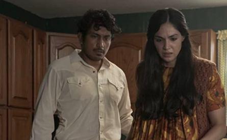 Madres-movie-film-horror-migrants-box-Blumhouse-Amazon-2021-Tenoch-Huerta-Ariana-Guerra