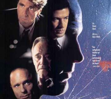poster of Glengarry Glen Ross movie 1992 starring Al Pacino