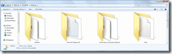 contents of software folder