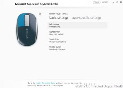 CDW review of the Microsoft Sculpt Touch Mouse - 3