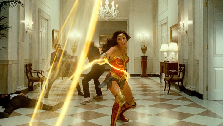 a still from Wonder Woman 1984