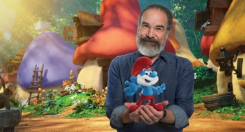 "Mandy Patinkin voices ""Papa"" in Columbia Pictures and Sony Pictures Animation's SMURFS: THE LOST VILLAGE."