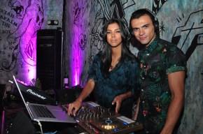 Christi Mcgarry and Eduardo Lara