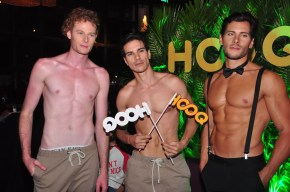 Models Dyogo. Tiago, and Davide