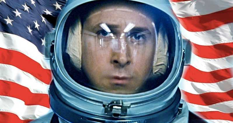 Buzz Aldrin and Neil Armstrong's Sons Debate a Patriotic Issue with 'First Man'