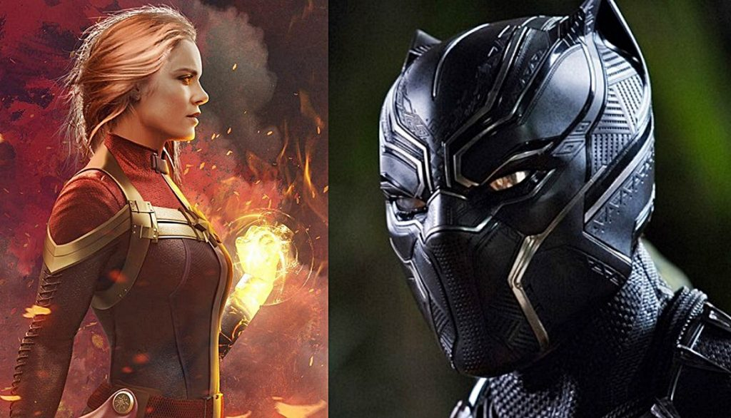 The Overpowered Protagonist: Captain Marvel & Black Panther