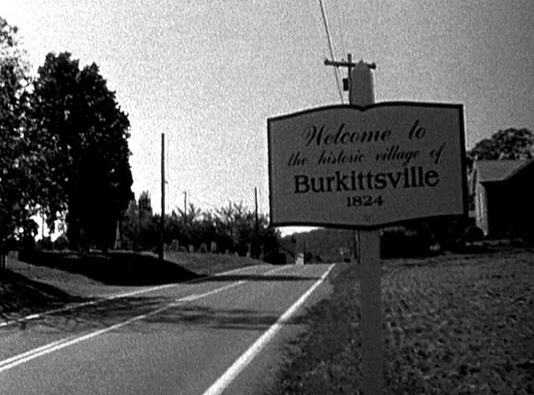 Burkittsville, home of The Blair Witch Project