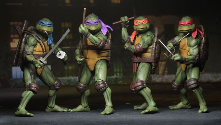 Teenage Mutant Ninja Turtles made some of the best toys for kids ever.