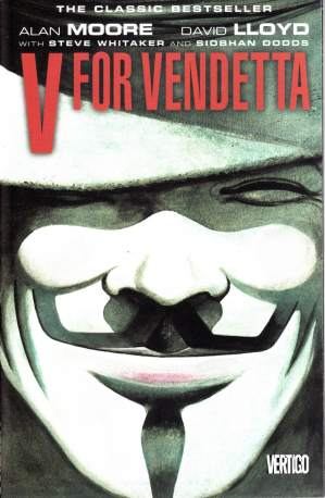 Alan Moore's classic graphic novel, 'V for Vendetta'