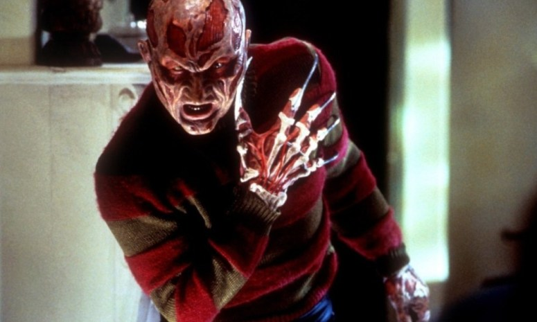 Krueger was ready to kill in Freddy vs. Jason in the final battle.
