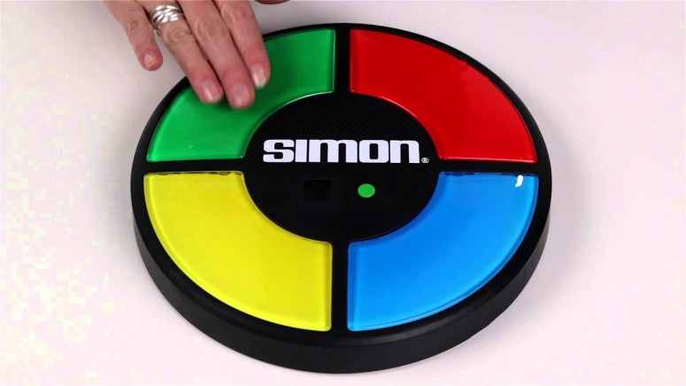 Simon is one of a few classic toys that would make a great movie.