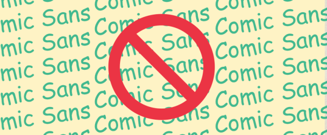 Did you know Comic Sans font was derived from DC Comics?