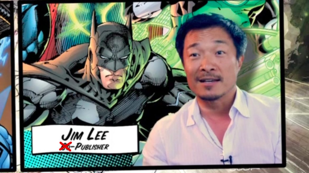 "DC Comics Jim Lee: ""We're Still in the Business of Publishing Comics"""