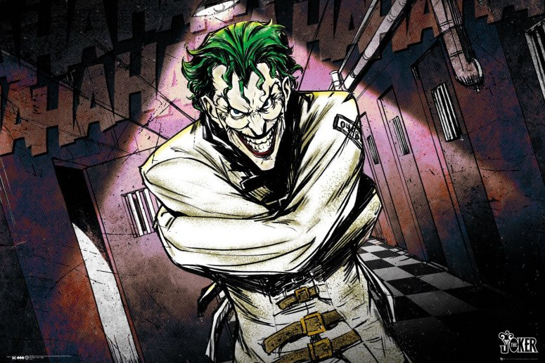 DC Comics sure are cryptic with some things, like Joker's cell block number.