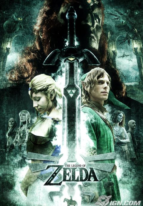 Legend of Zelda Movie Trailer Various