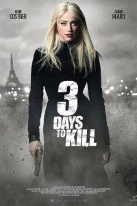 Download 3 Days to Kill (2014) Dual Audio {Hindi-English} Bluray 480p [400MB] || 720p [1GB]