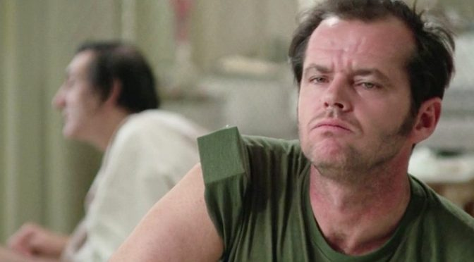 Nicolson as McMurphy