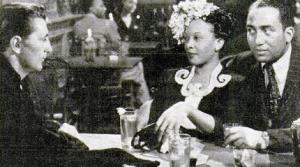 Theresa Harris with Caleb Johnson and Robert Mitchum
