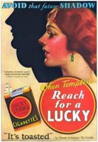 Lucky Strike advertisement