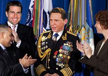 Church of Scientology CEO Miscavige in Sea Org uniform