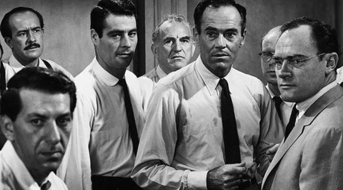 "12 Angry Men vs ""The Trial of the Century"""