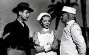 "Robert Montgomery, Virginia Bruce, and Lewis Stone - stars of ""Yellow Jack"""