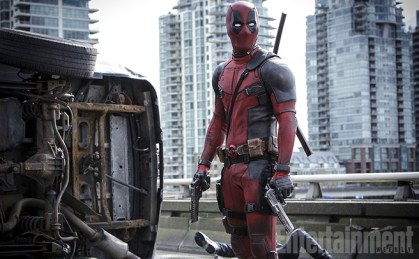 Ryan Reynolds as Deadpool in 'Deadpool'