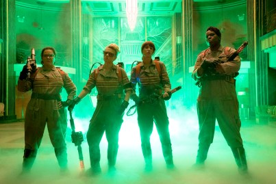 Melissa McCarthy, Kate McKinnon, Kristen Wiig & Leslie Jones for GHOSTBUSTERS