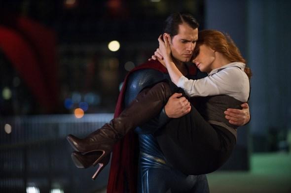 Henry Cavill & Amy Adams in Batman v Superman: Dawn of Justice