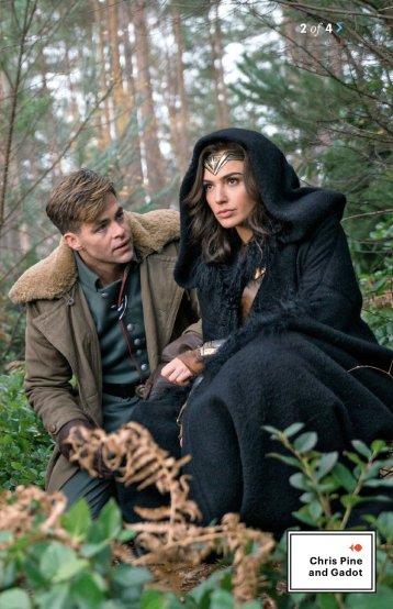Chris Pine & Gal Gadot in Wonder Woman