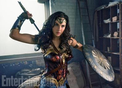 Gad Gadot as Wonder Woman in Wonder Woman
