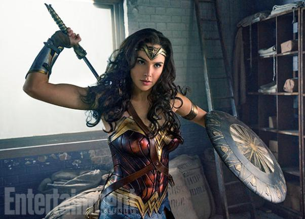 Gad Gadot as Wonder Woman in Wonder Woman