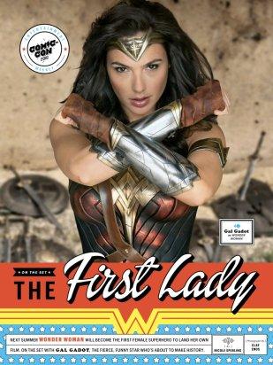 Wonder Woman EW Cover