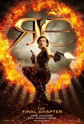 Resident Evil: The Final Chapter Teaser Poster